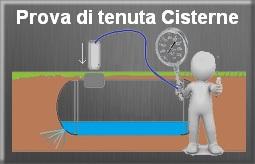 Prova tenuta cisterne Verona