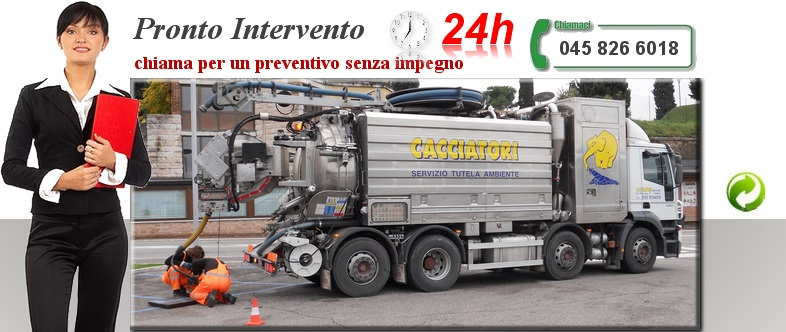 Pronto Intervento Spurghi 24 ore su 24 in Verona